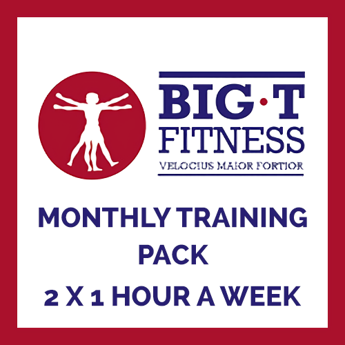 2 x 1 Hour a Week Personal Training Sessions